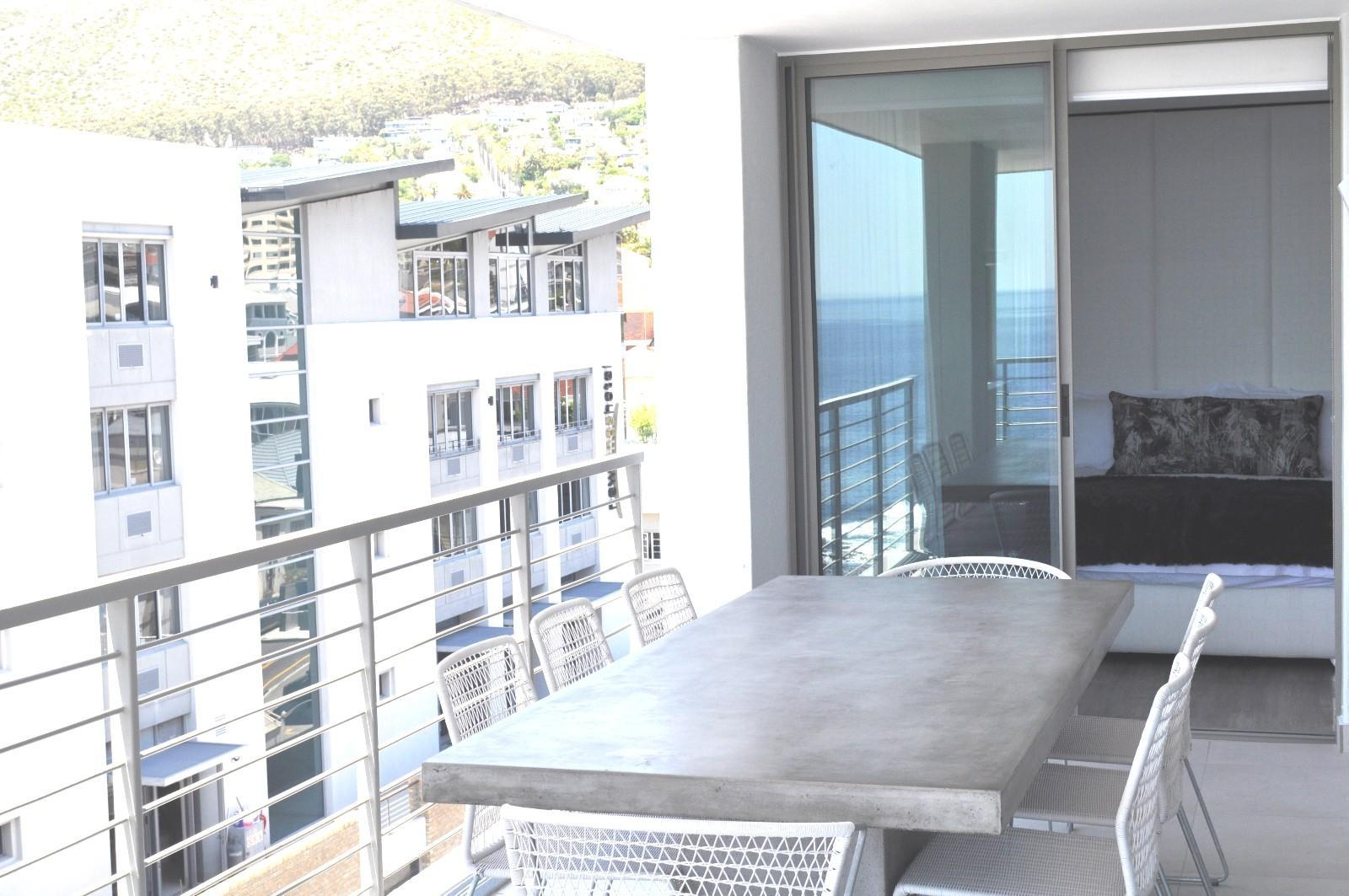 Apartment in Sea Point - Outdoor Dining area