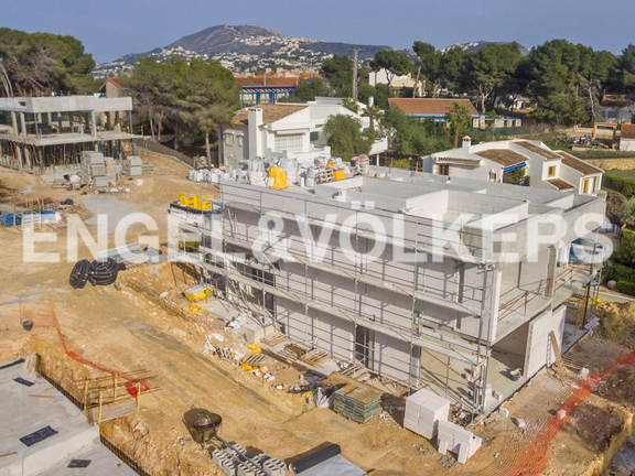 House in Moraira - Luxury Villa in Moraira, Building Phase