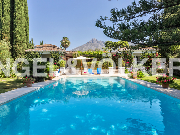 House in Golden Mile - Villa for sale in Marbella Golden Mile