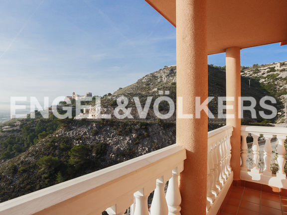 House in Cullera - Master suite's terrace