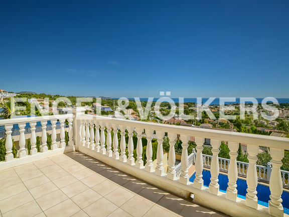 House in Calpe - Terrace with view