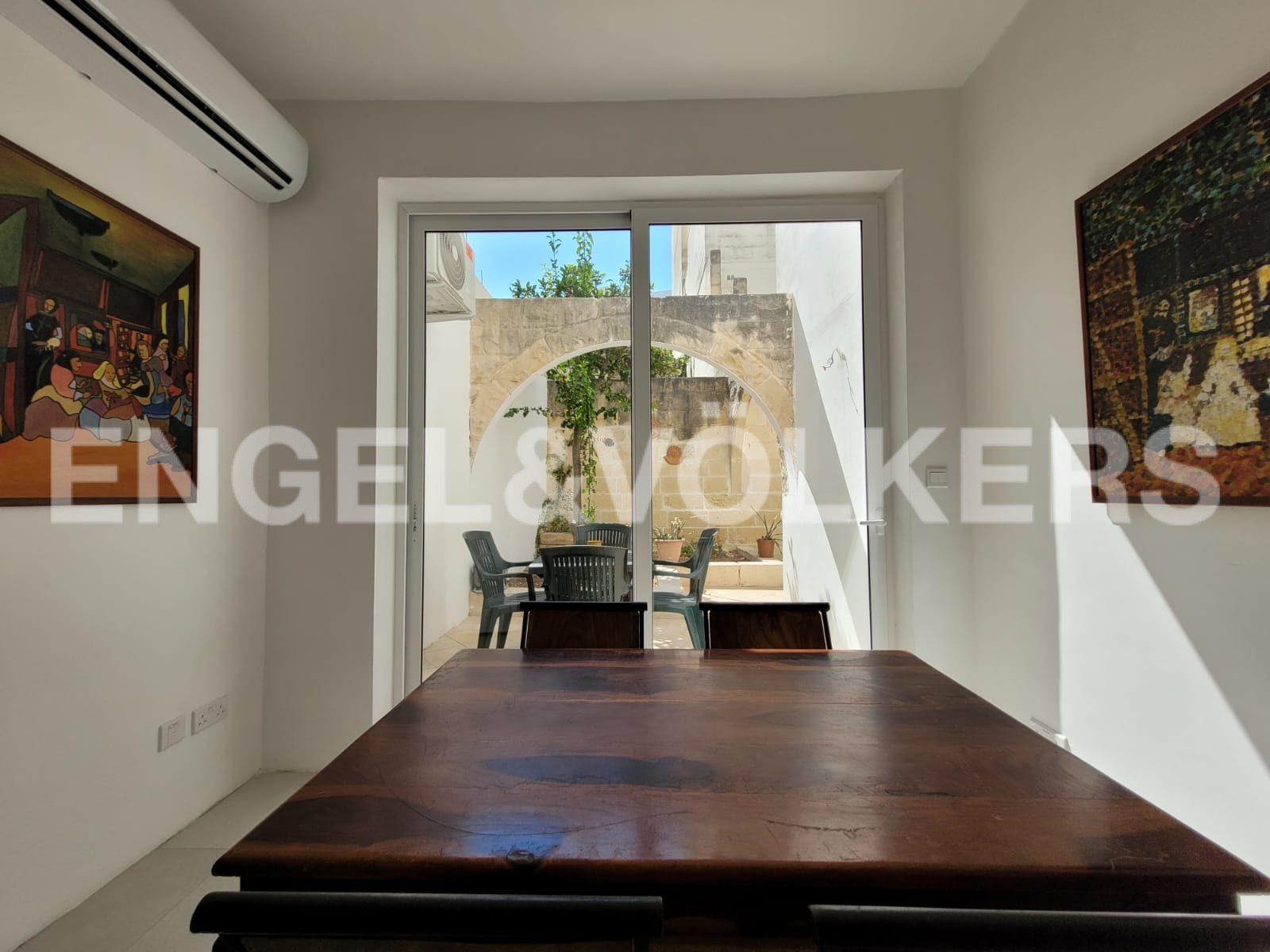 Apartment in Kappara - Dining Room