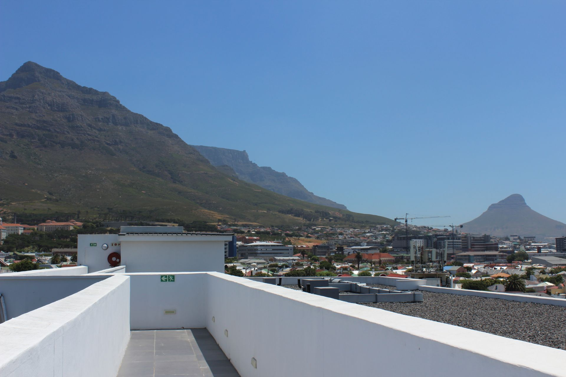 Apartment in Observatory - Views from the rooftop