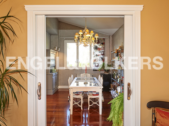 House in Antiguo - Entrance to the marvellous dining room