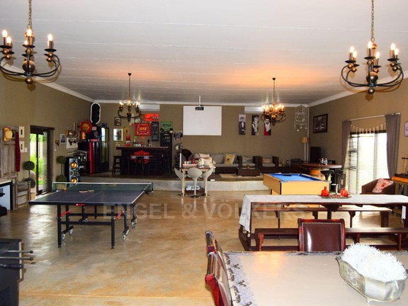 House in Grimbeekpark - magnificent entertainment area