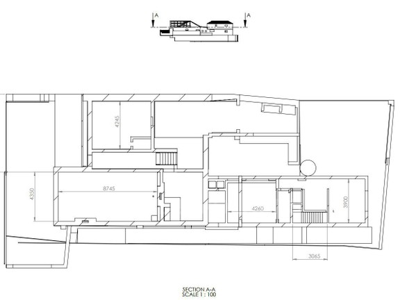 House in Woodstock - Attic Level Plan