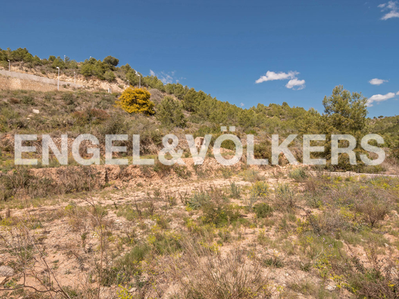 Land in Calpe - Building Plot with Panoramic Views in La Empedrola - Calpe