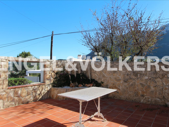 House in Dénia Montgó - House with fantastic sea views in Denia.BBQ area