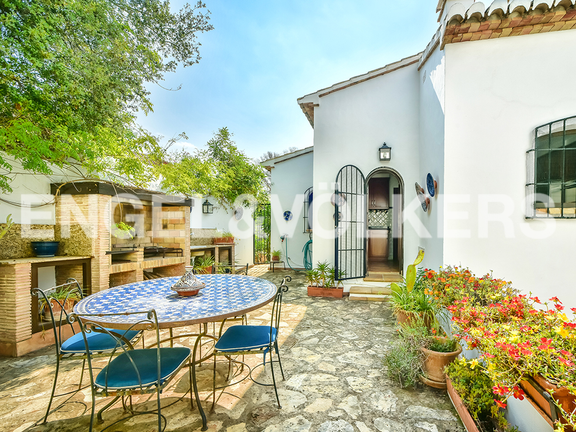 House in Calpe - Terrace with barbecue place