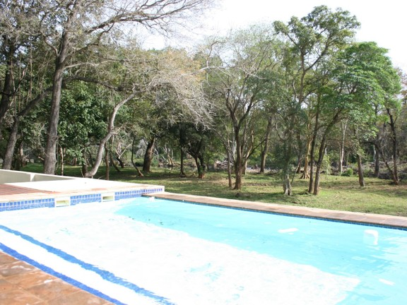 House in Blyde Wildlife Estate - pool towards river view