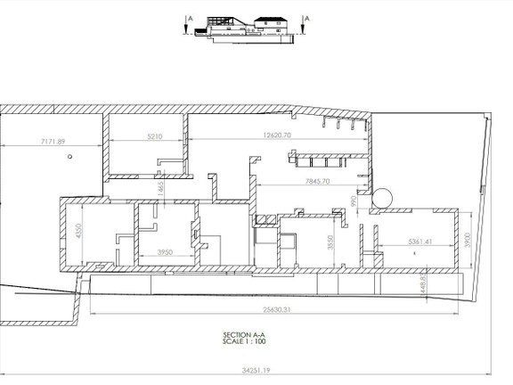 House in Woodstock - Ground Level Plan