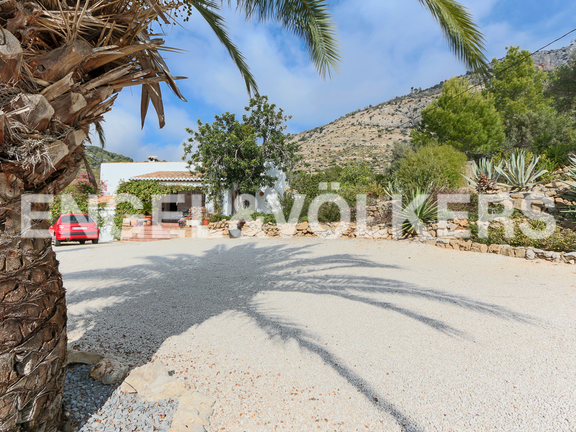 House in La Sella Golf - Entrance to the property.