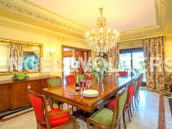 House in Sierra Blanca - Dining Room