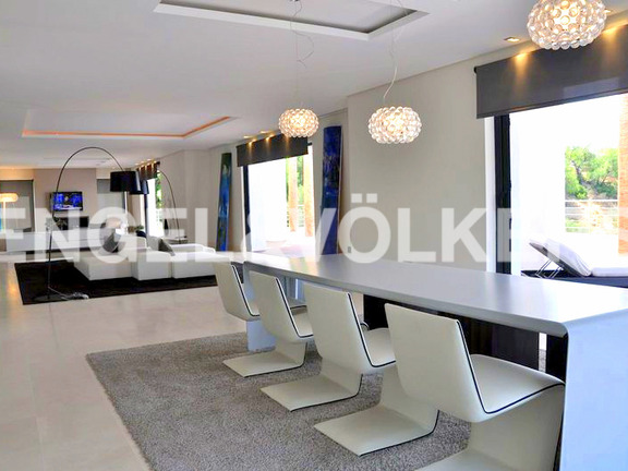 House in Surroundings - Living-Dining Room