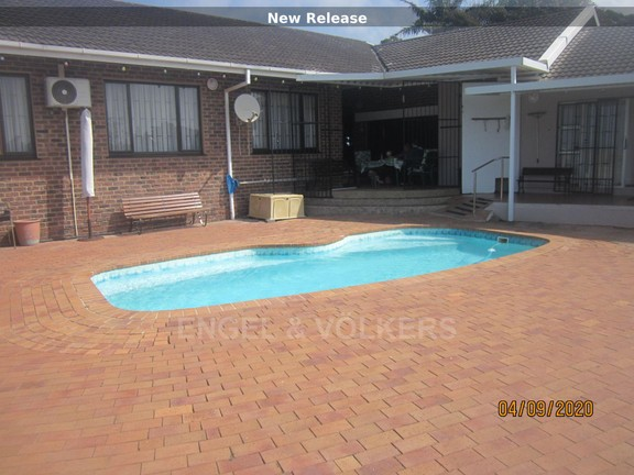 Front of House and pool