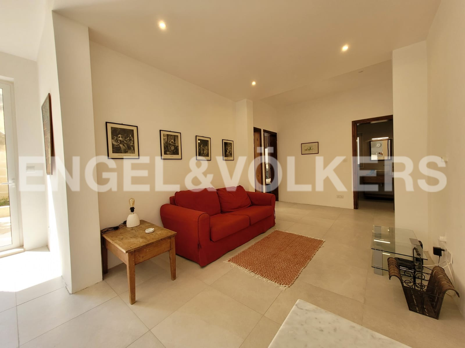 Apartment in Kappara - Living Room