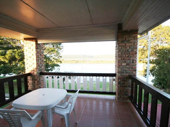 House in Redhouse - Patio overlooking the river