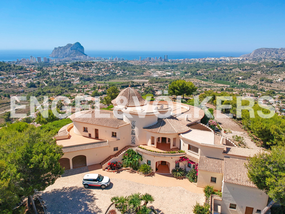 High Quality Luxury Villa with Sea Views in Calpe, Views