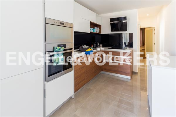 Penthouse, Msida, Kitchen/ Living/ Dining