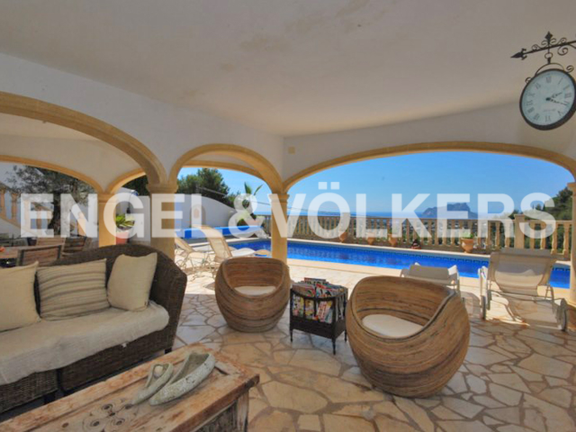 House in Moraira - Luxury Villa in Moraira, Terrace