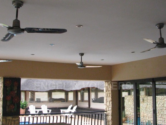 House in Melodie A/h - Ceilings fans at the outside patio area