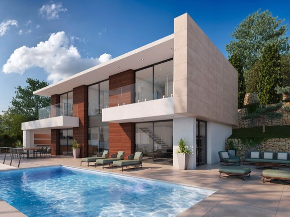 New Build Property with Sea Views in Montemar - Benissa Costa, Villa