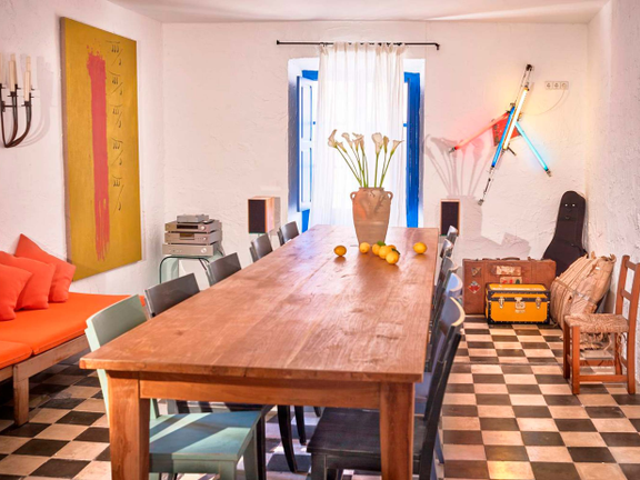 House in Ibiza - Dining area