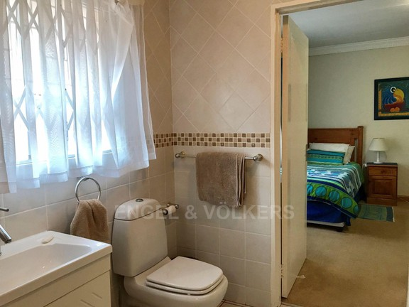 House in Kosmos Village - Bathroom shared by two upstairs bedrooms