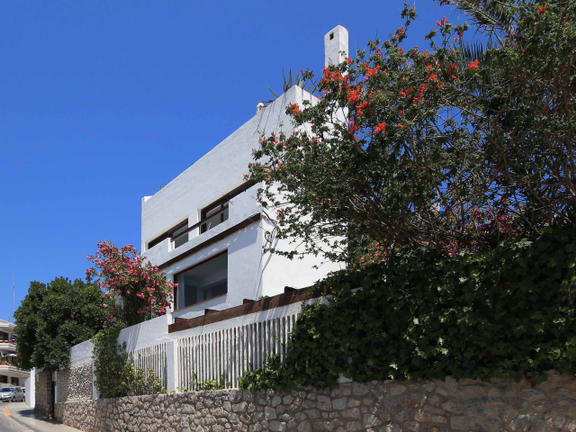 House in Ibiza - Street view