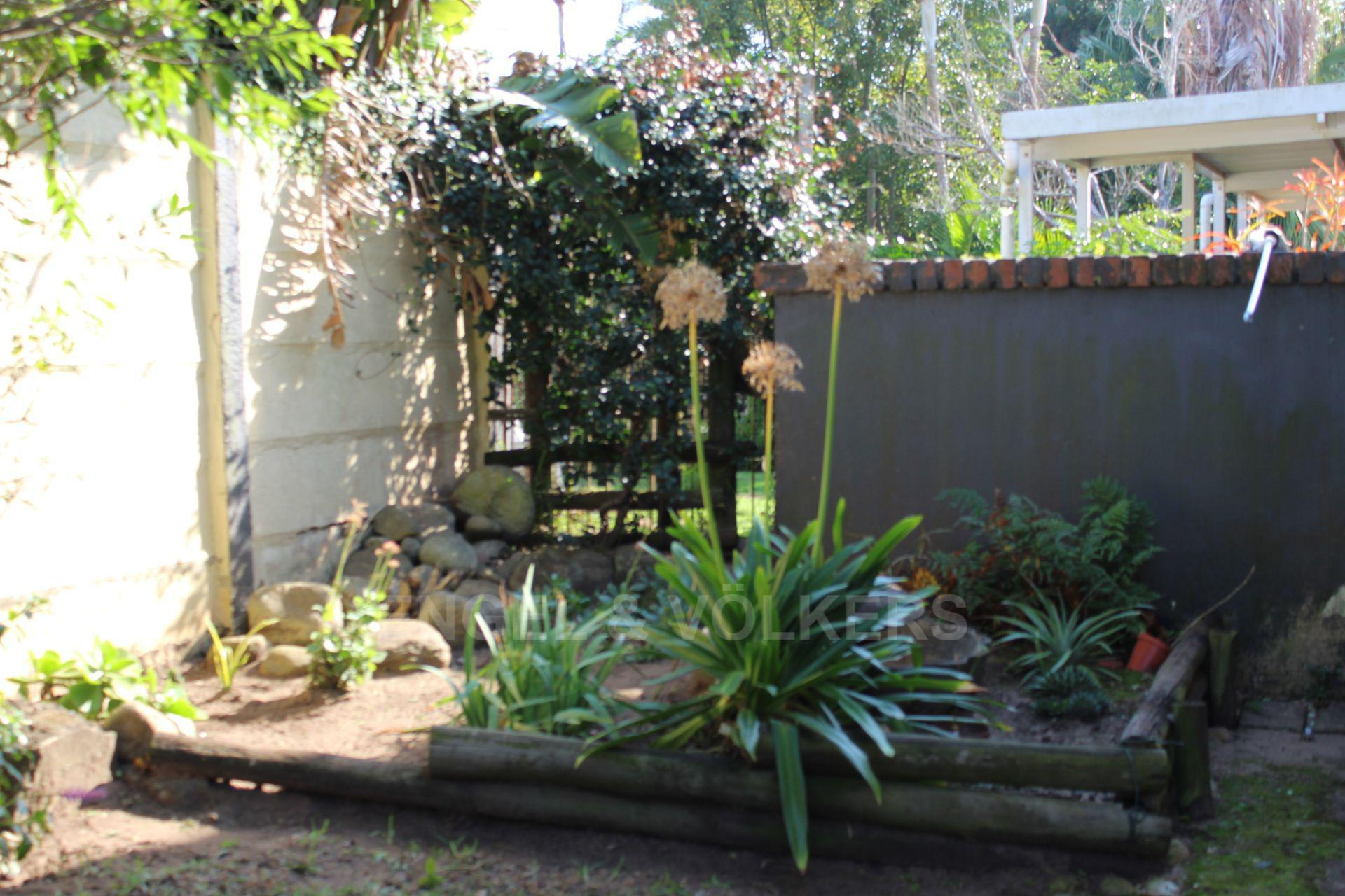 House in Leisure Bay - 003 Garden by Front Entrance.JPG