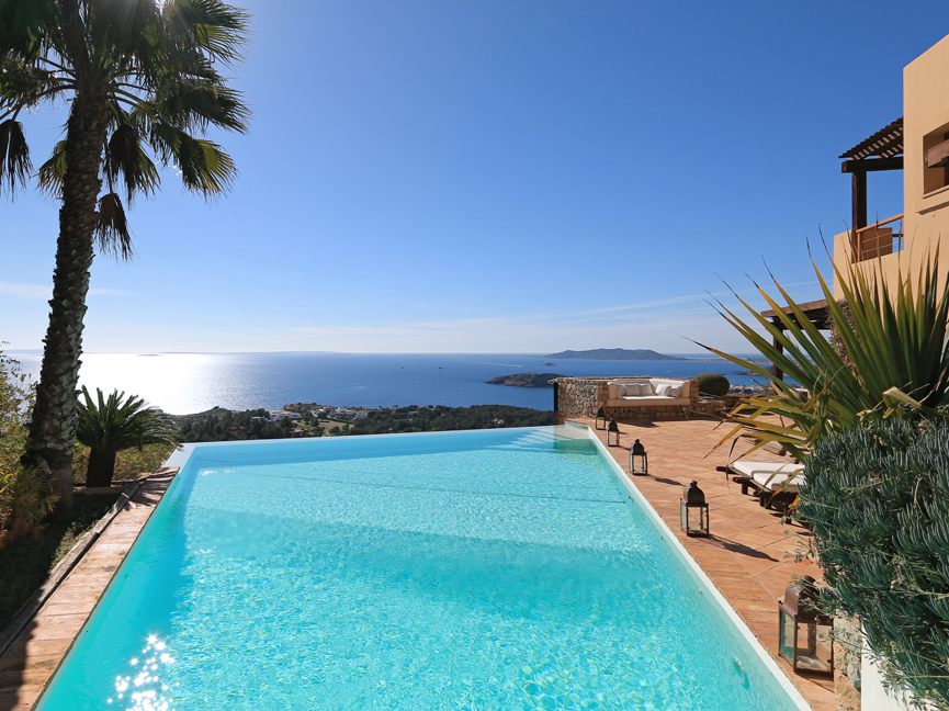 House in Ibiza town - Splendid villa with separate guesthouse