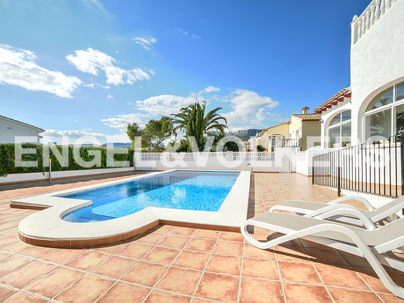 House in Calpe - Poolterrace