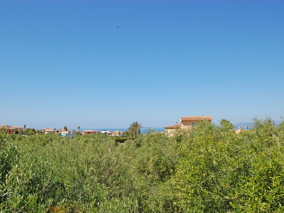 Plot with sea views in Sa Torre