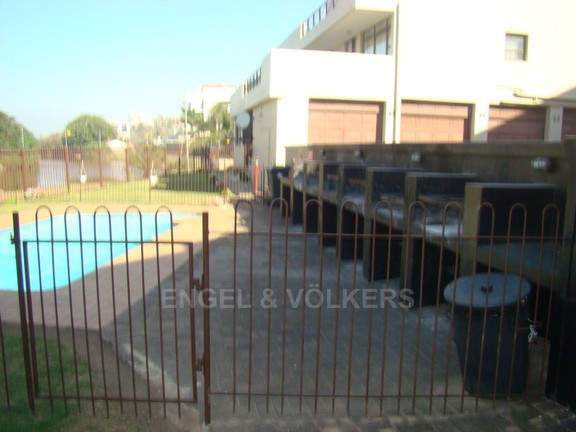 Condominium in Margate - 012 Braai and pool area.JPG