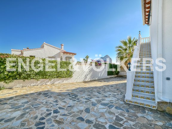 House in Calpe - Outside stairs