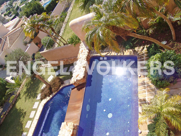 House in Moraira - Villa in Moraira, Pool