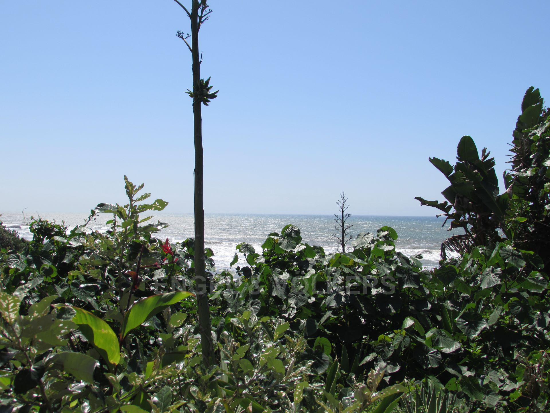 Apartment in Ramsgate - SEA VIEW FROM FRONT GARDEN.JPG