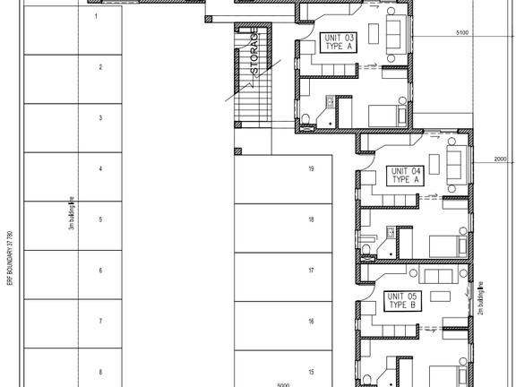Condominium in Bult - Site Plan