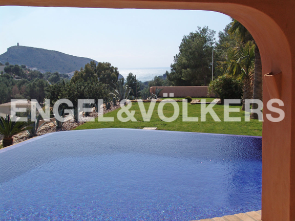 Villa in Moraira, Views