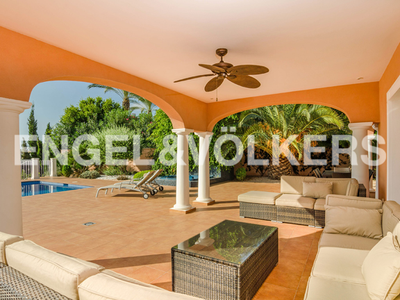 House in Moraira - High Quality Luxury Villa with Sea Views in Moraira, Terrace