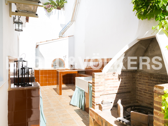 House in Cullera - Oven and BBQ