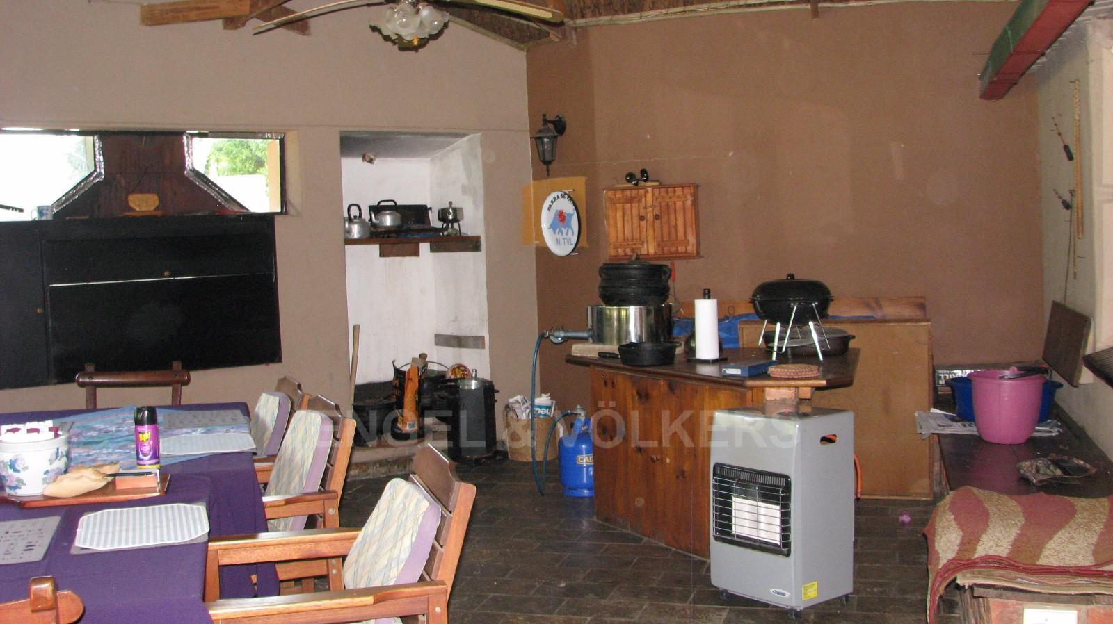 Land in Farms - Braai area with a large open space for dining as well