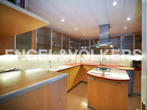House in Ulía - Kitchen with all the domestic appliances of the best brands, Villa A