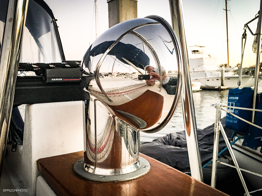 Sail in United States - Beautiful stainless steel dorado vents, port and starboard.