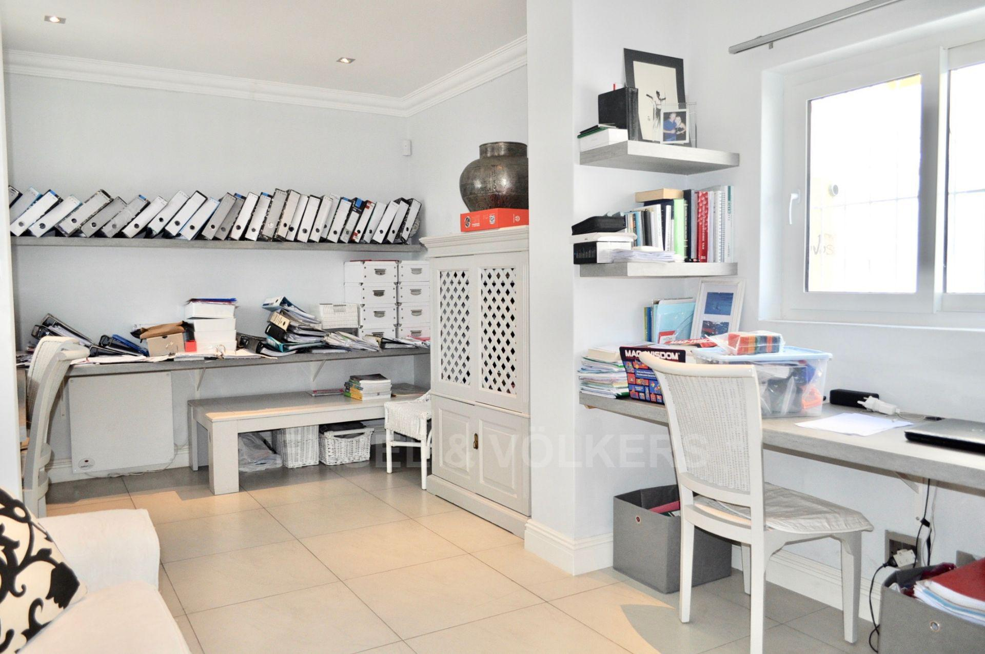 House in Upper Claremont - Office - View