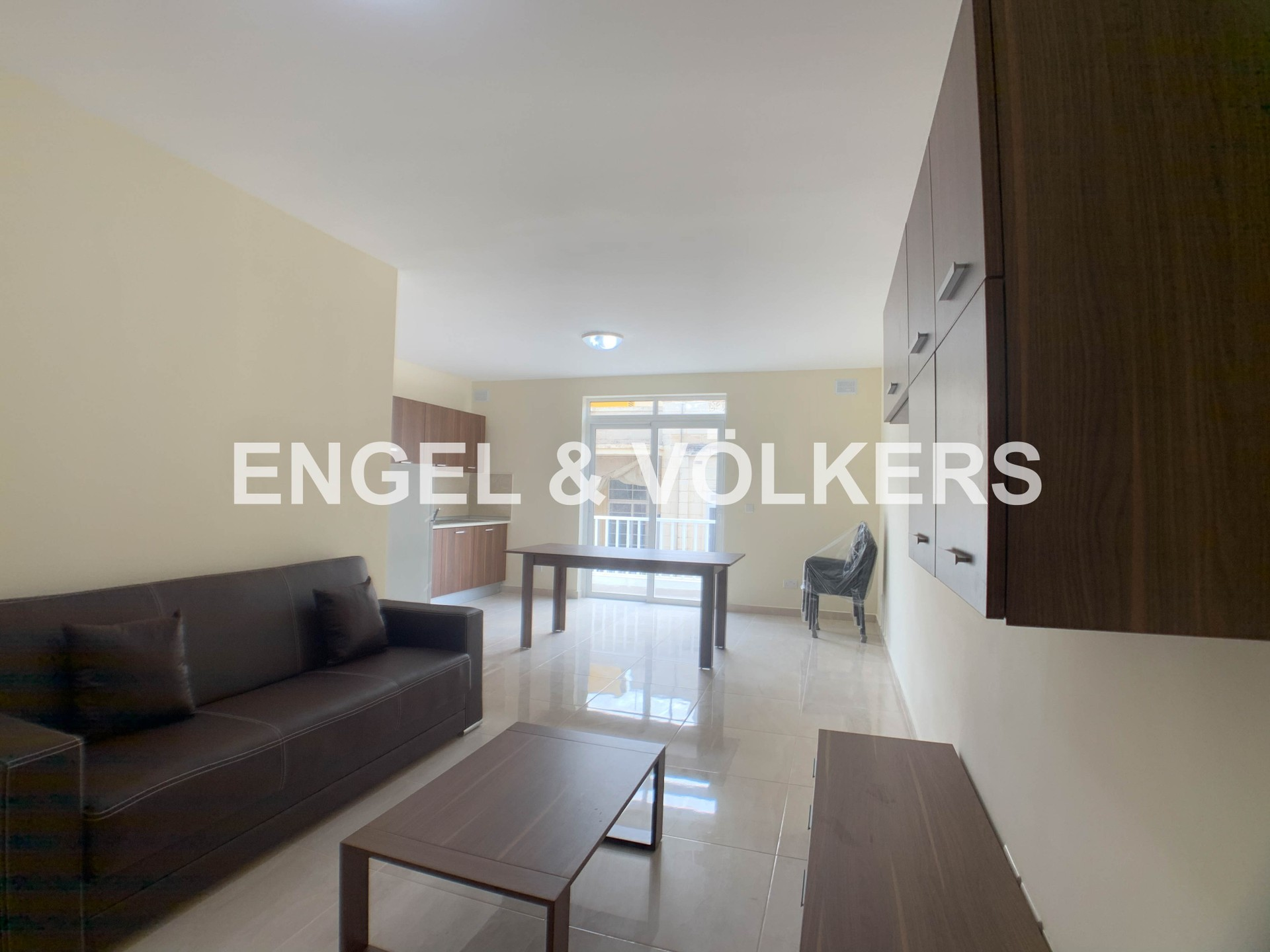 Apartment in Mosta - Apartment, Mosta, Kitchen/Dining/Living