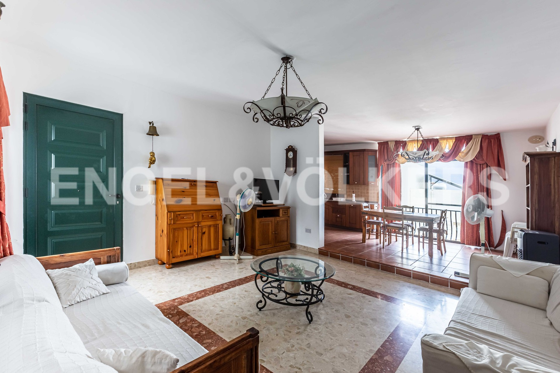 Apartment in Mellieha - Living Room