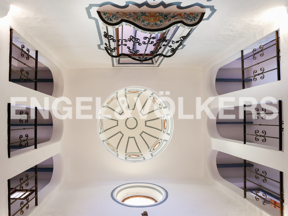 House in Cullera - Dome and interior balconies
