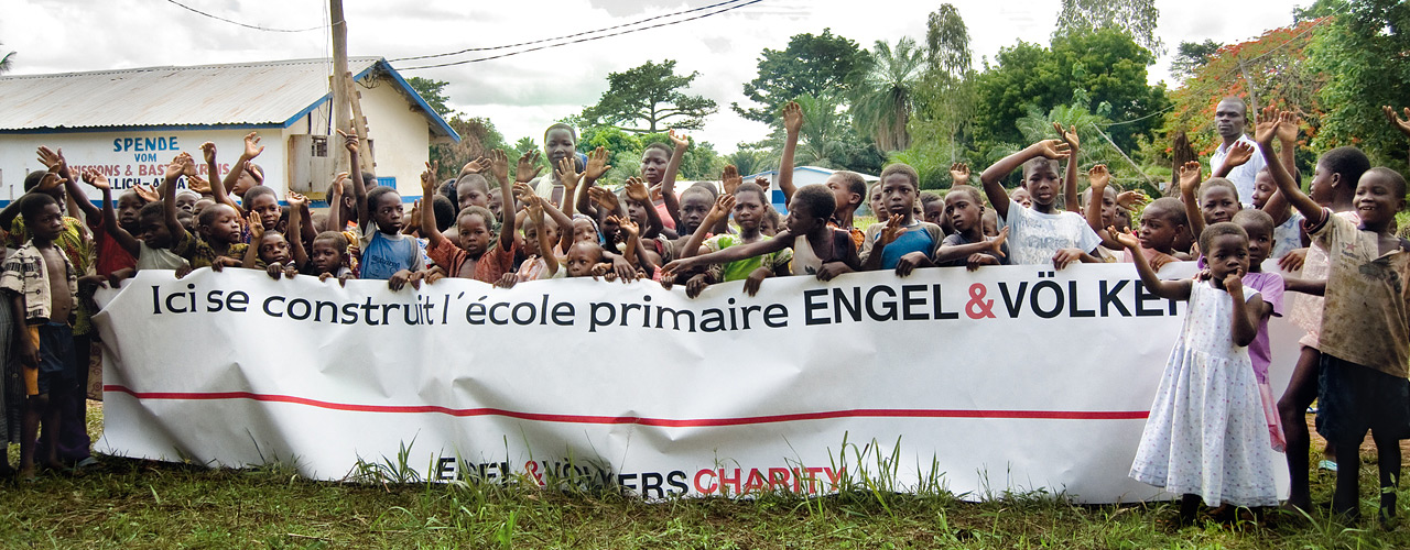 "Engel & Völkers - The non-profit making association ""Engel & Völkers Charity e.V. / Association supports Educational Relief Projects in Africa."