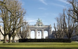 Triumphal arch in the Parc du Cinquantenaire, Brussels